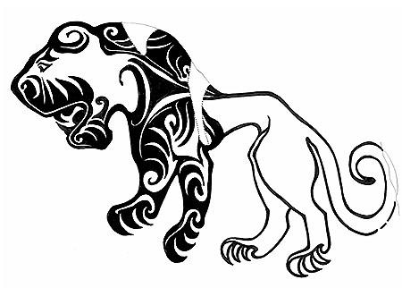 Pazyryk Tattoo Design